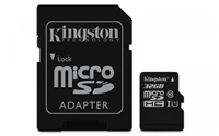KARTA PAMIĘCI KINGSTON MICROSD 32GB CL10 ADAPTER