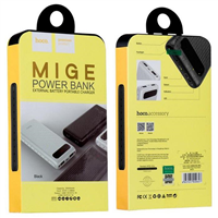 HOCO POWER BANK MIGE CZARNY B20A 20000 mAh