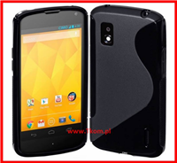 BACK CASE ALCATEL ONE TOUCH IDOL MINI 6012 CZARNY